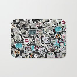 STICKERMANIA Bath Mat