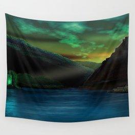 Romantic Rhine Wall Tapestry