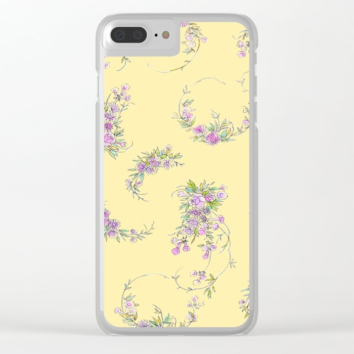 denise Clear iPhone Case