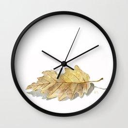 Oak leaf  Wall Clock
