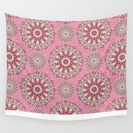 Mandala 189 (Floral) Wall Tapestry