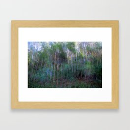 Forest for the Trees for the Forest Framed Art Print