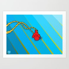 Swing Away Art Print