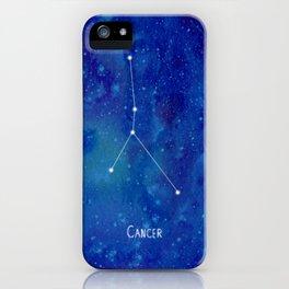 Constellation Cancer iPhone Case