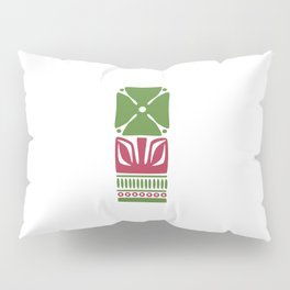Nordic Green Flower Pillow Sham