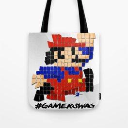 Pixel Mario Tote Bag