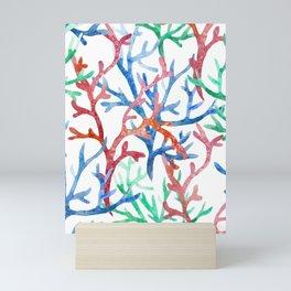 Sea Life Pattern 03 Mini Art Print