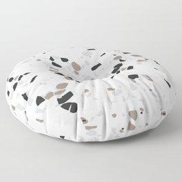 Terrazzo White Floor Pillow