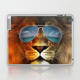 Cool Lion Face Laptop & iPad Skin