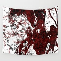 daryl dixon Wall Tapestries featuring Walking Dead: Daryl by André Joseph Martin