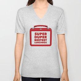 Super Duper Bestest Lunchbox Unisex V-Neck