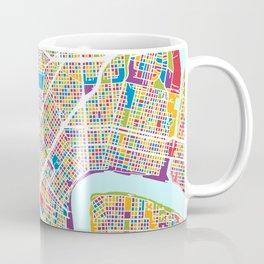 New Orleans Street Map Coffee Mug