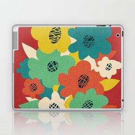 Paper Flowers Laptop & iPad Skin