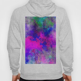 Abstract Space Face 3 Hoody