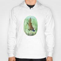 platypus Hoodies featuring Platypus by Kirsten Sevig