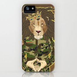 Lion Order iPhone Case