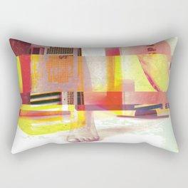 Partialism Rectangular Pillow