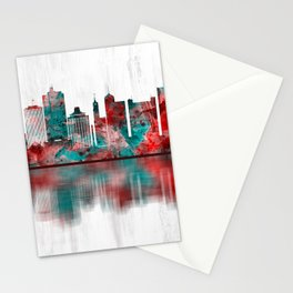 Memphis Tennessee Skyline Stationery Cards