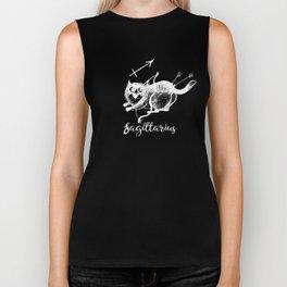 Funny Sagittarius Cat Zodiac December Unisex Shirt Birthday Gift Biker Tank