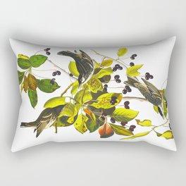Blackpoll Warbler Bird Rectangular Pillow