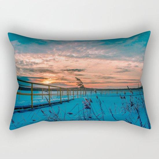 Waiting for the Summer Rectangular Pillow