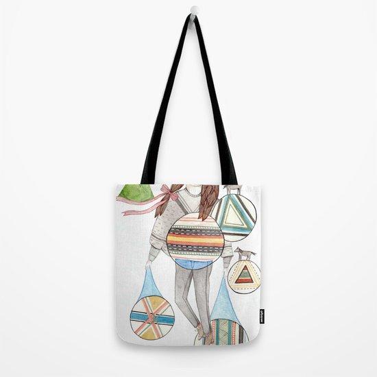 Patterns/Circles Tote Bag