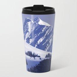 Back-Country Skiing - 8 Travel Mug