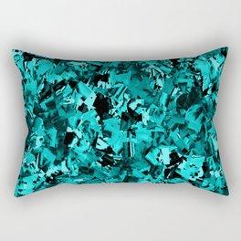 Turquoise Craze..... Rectangular Pillow
