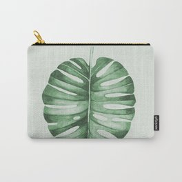 Monstera, Leaf, Tropical, Wall Art Carry-All Pouch
