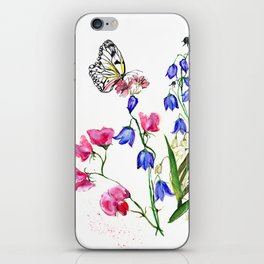 Wild Flowers Field iPhone Skin
