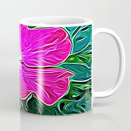 Magenta Flower of Harmony Coffee Mug