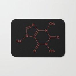 Caffiene Molecule | Molecules | Coffee | Coffee lover Bath Mat