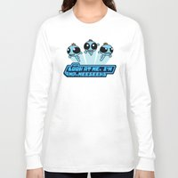 powerpuff girls Long Sleeve T-shirts featuring Powerpuff Meeseeks by BovaArt