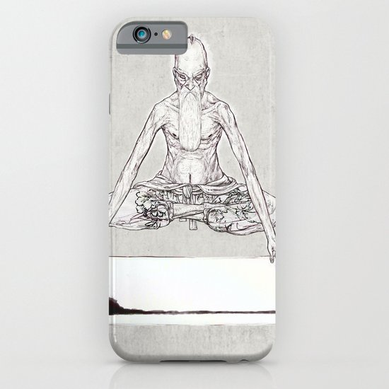 INDIA INK FOR THE TRIANGLE iPhone & iPod Case