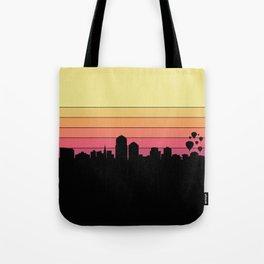 Albuquerque Skyline Tote Bag