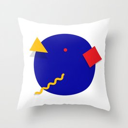 Geometric Shapes 01 Throw Pillow