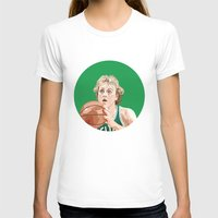 larry T-shirts featuring Larry Bird by AkidNamedWalter