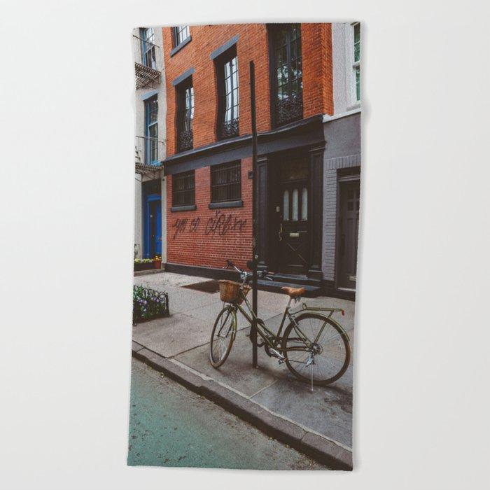 New York's West Village Beach Towel