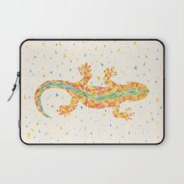 Orange Barcelona City Lizard Laptop Sleeve