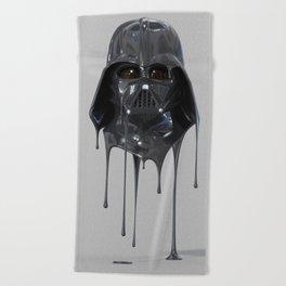 Darth Vader Melting Beach Towel