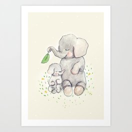 Mama Love. Art Print