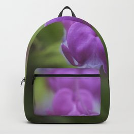 Bleeding heart flower Backpack