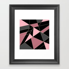 Abstraction . Geometric pattern 3 Framed Art Print