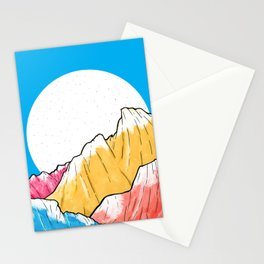Blue Sky Mountains 2 Stationery Cards