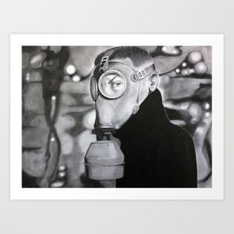 Welcome to Chernobyl Art Print