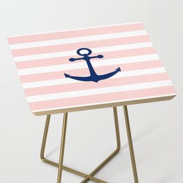 AFE Nautical Navy Ship Anchor Side Table
