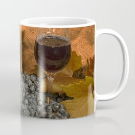 Bell and Howell with Black Grapes Coffee Mug