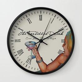 The Forbidden Drink Wall Clock