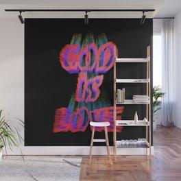 God Is Love Inspirational Bible Verse Wall Mural