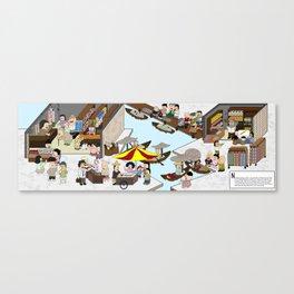 Provision Shop Canvas Print
